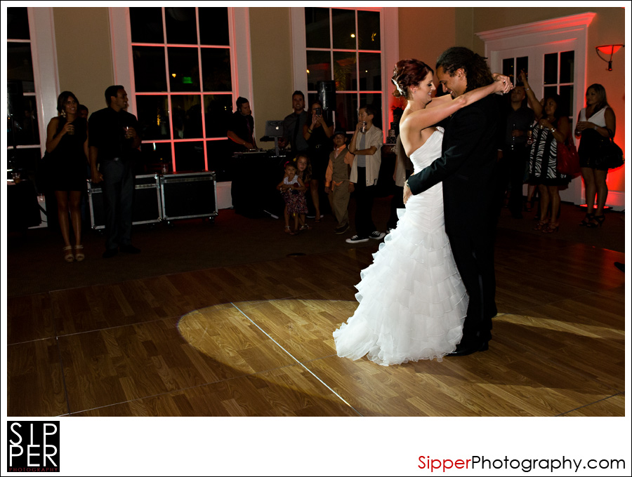 Bride and Groom first dance, Irvine CA
