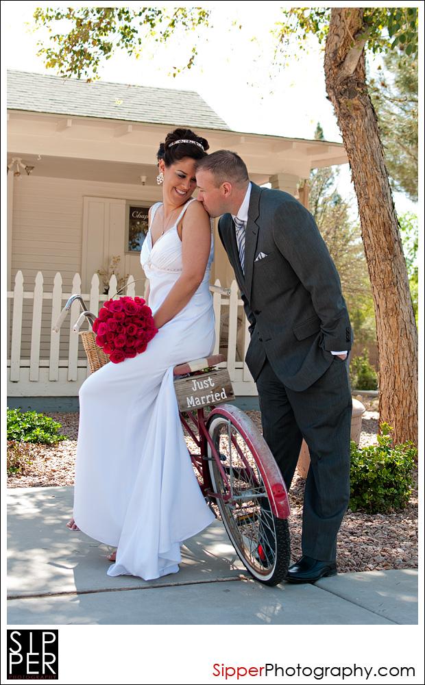 Gilbert Farm House Wedding Couple