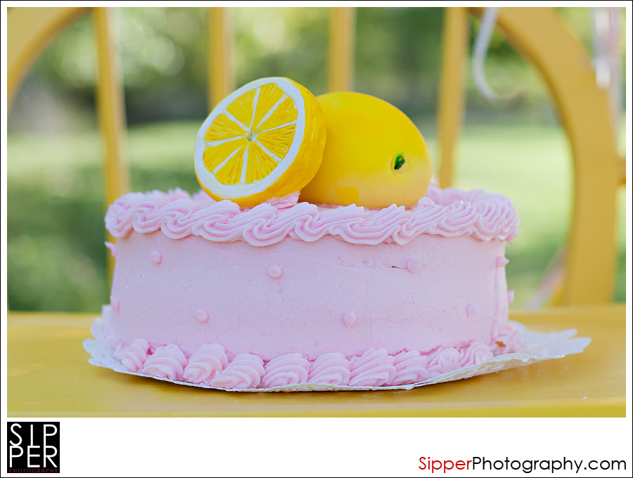 Pink Lemonade Birthday Cake