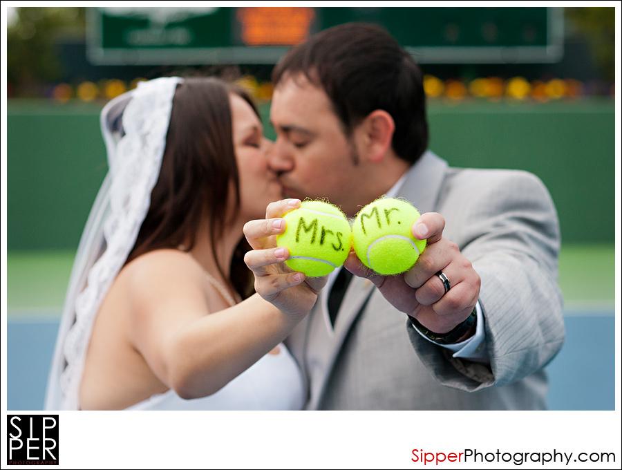 Mr. and Mrs. Tennis Balls