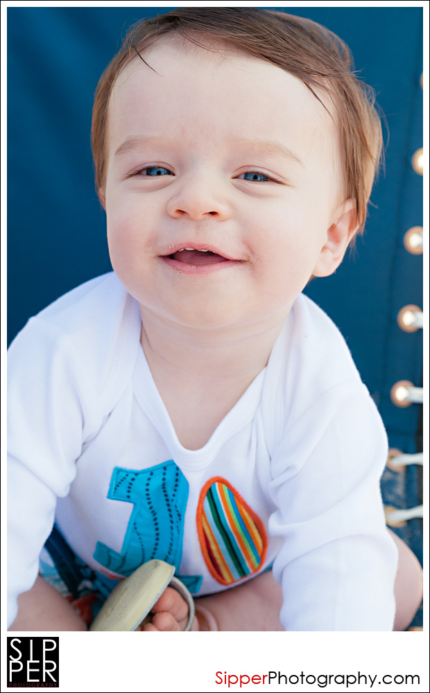 Orange County First Birthday Portrait