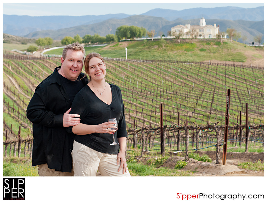 Engagement Portrait Temecula Wine