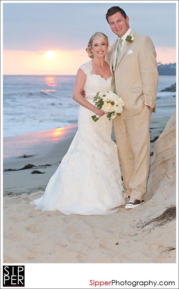 Sunset Wedding Photography in Laguna Beach