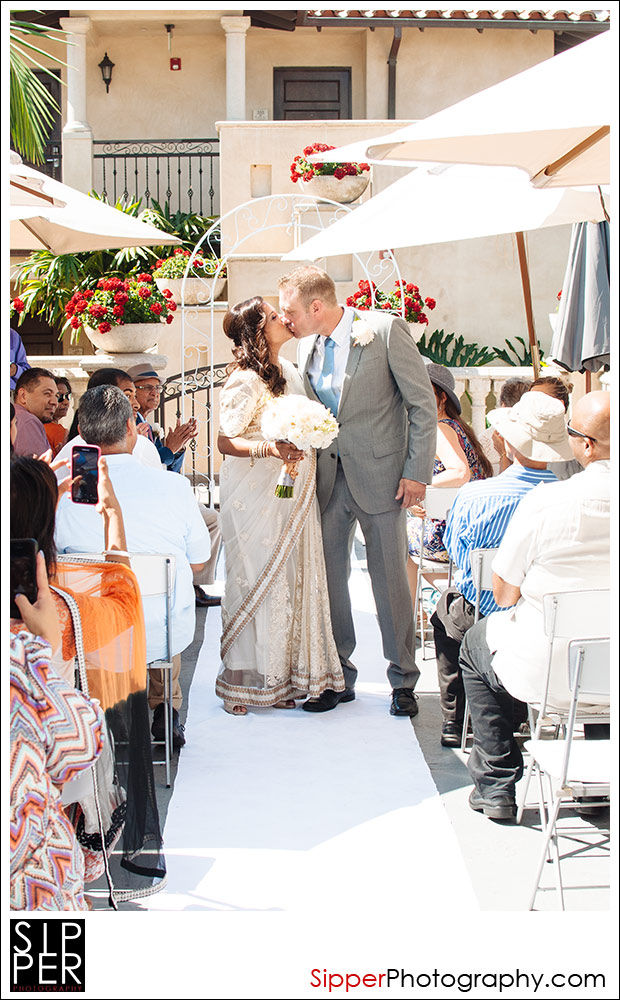 Balboa Inn Terrance Ceremony in Newport Beach