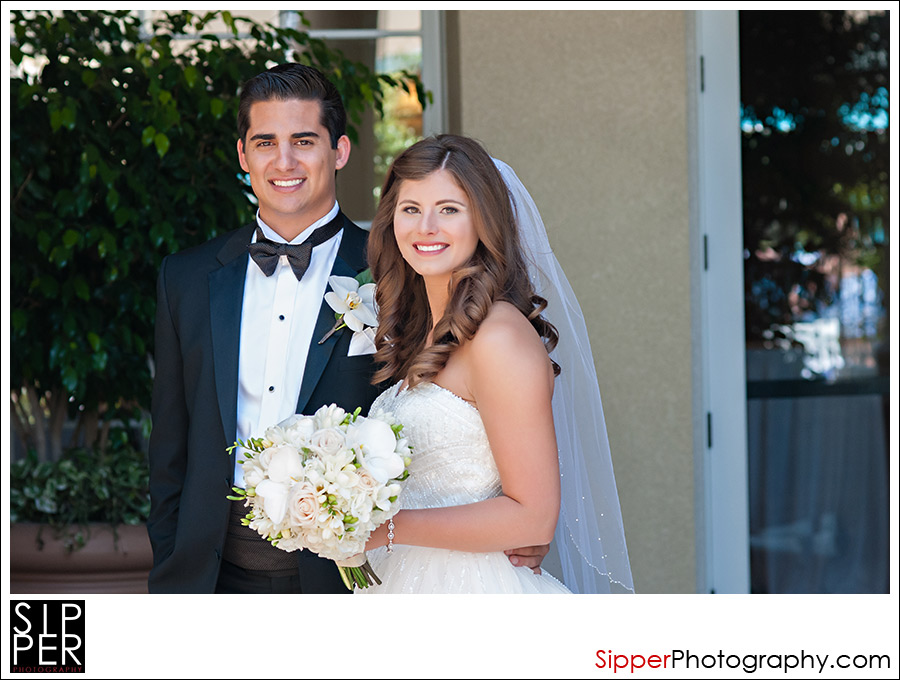 Balboa Bay Resort Newport Beach Wedding Couple