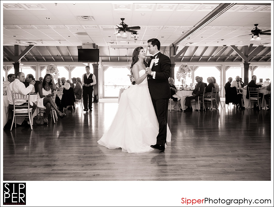 First Dance at the Harborside Grand Ballroom Wedding