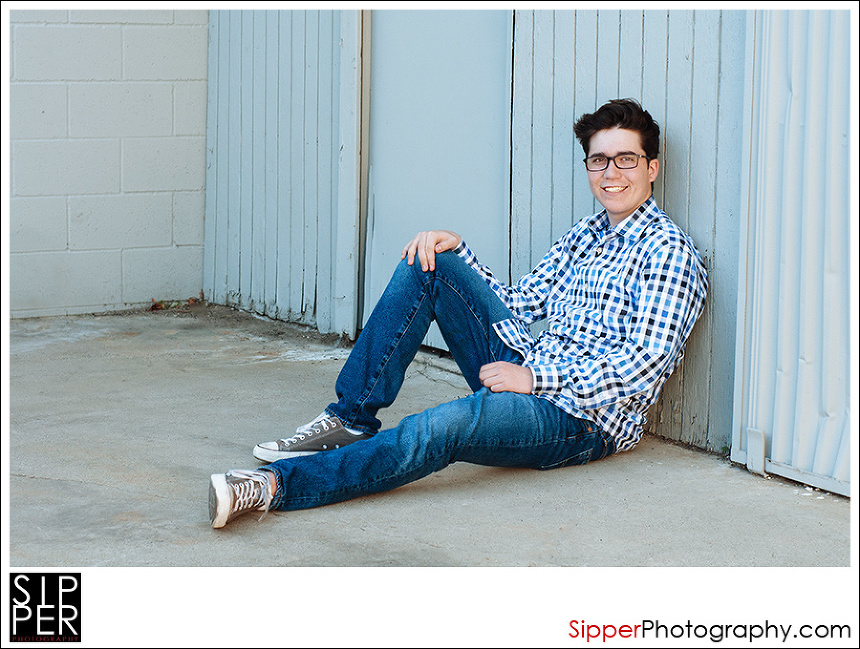 High School Senior Portrait Orange County