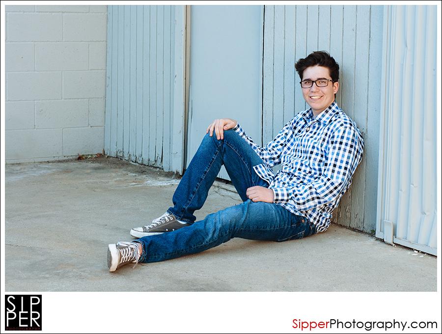 High School Senior Portrait Orange County