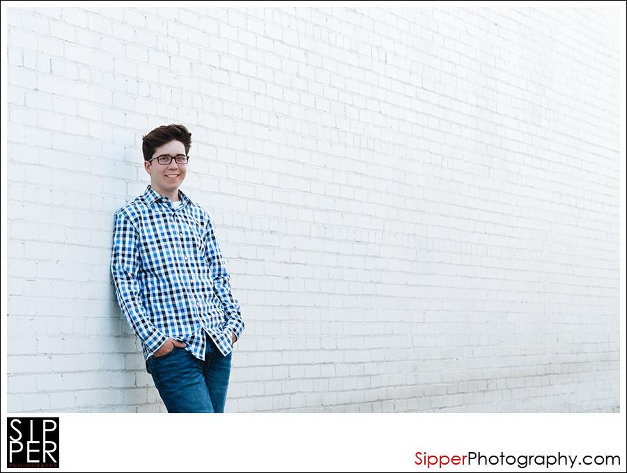 Urban High School Senior Portrait