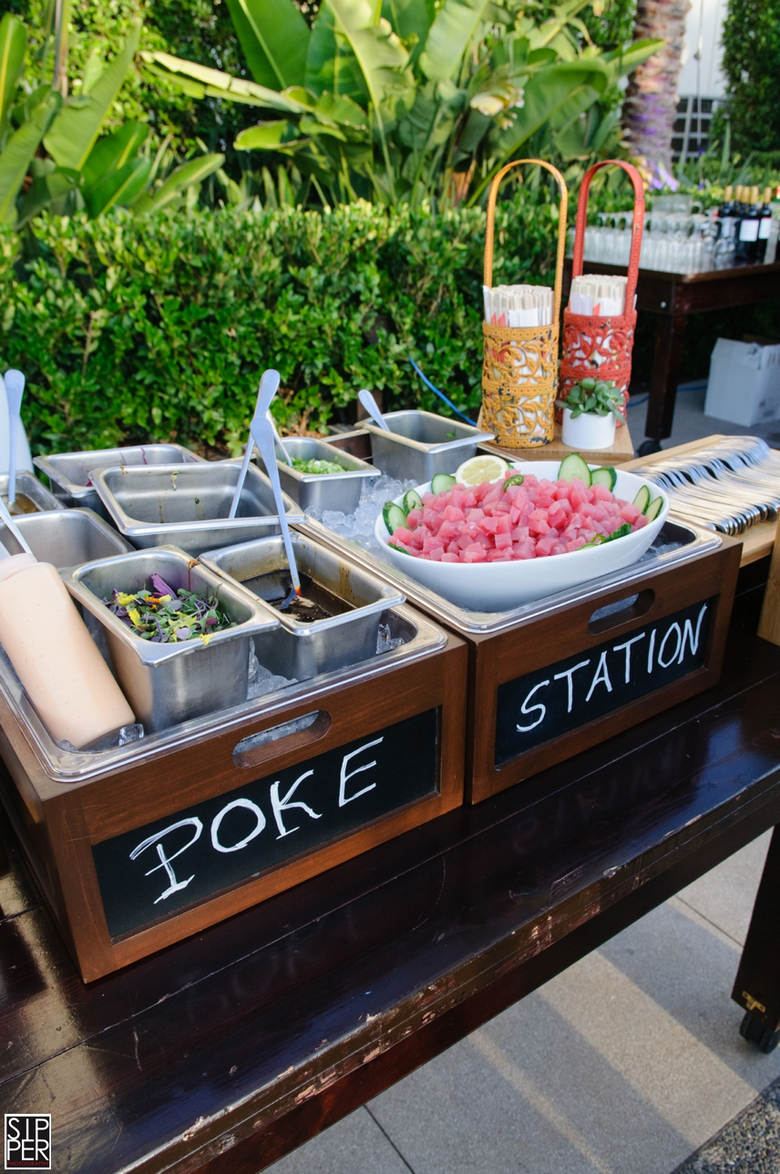 Poke Station by Hotel Irvine Catering