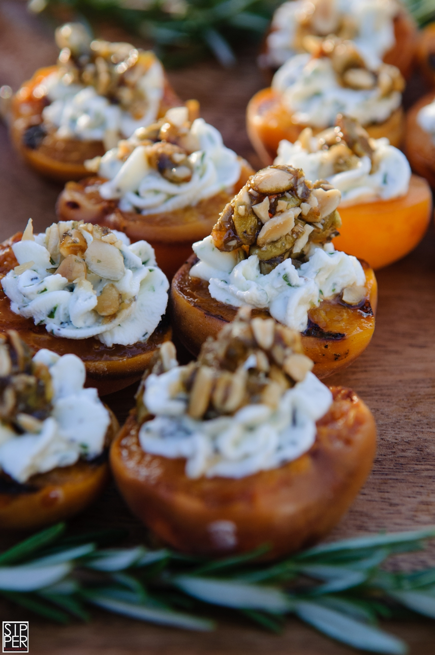 Apricot and Goat Cheese Appetizer by Hotel Irvine Catering