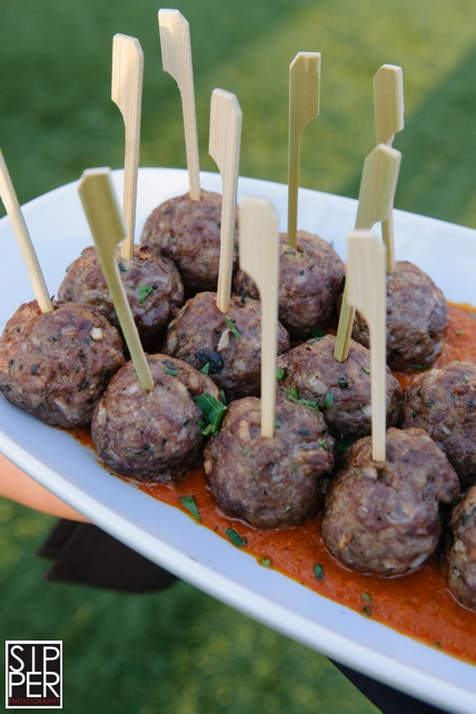 Meatball Appetizer by Hotel Irvine Catering