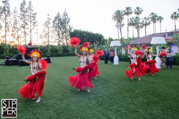 Hula Dancing Entertainment at Hotel Irvine
