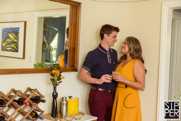 , Mad Men Style Engagement Session | Adrian + Luisa, Sipper Photography