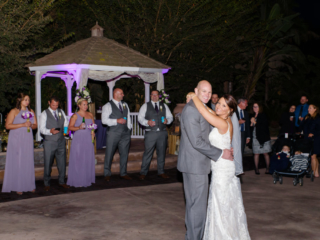 First Dance for Bride and Groom at The Red Horse Barn